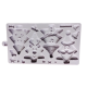 Christmas Tree Characters Mould