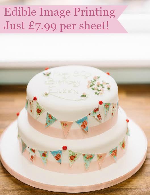 Edible Bunting Cake