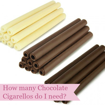 How many cigarellos do I need/